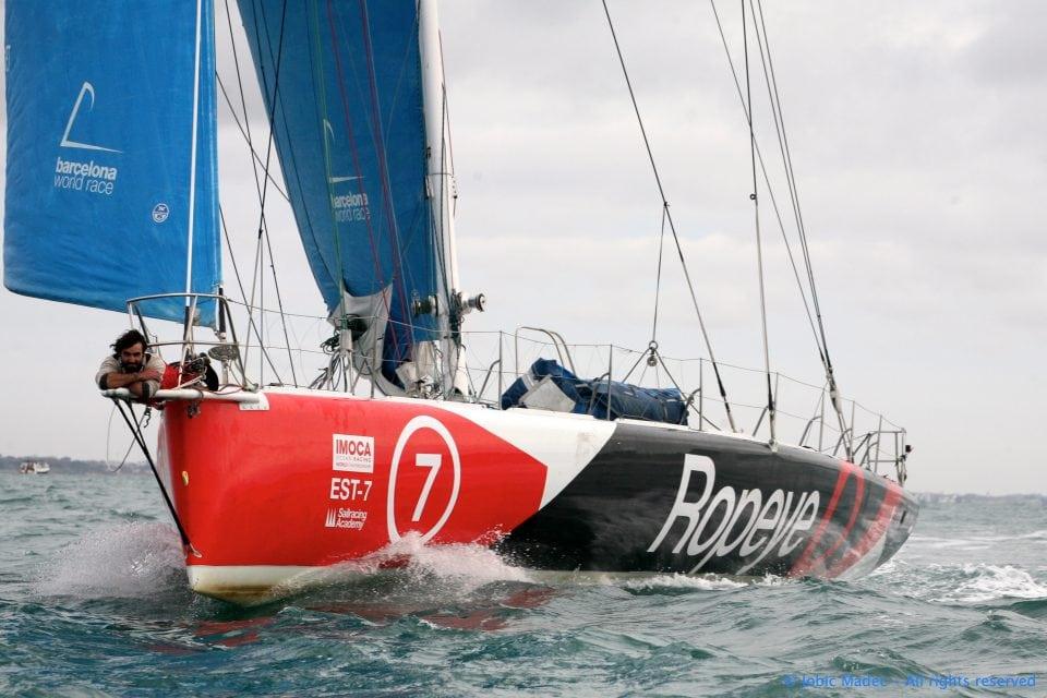 Alan roura - Vendée Globe -skippers.ch