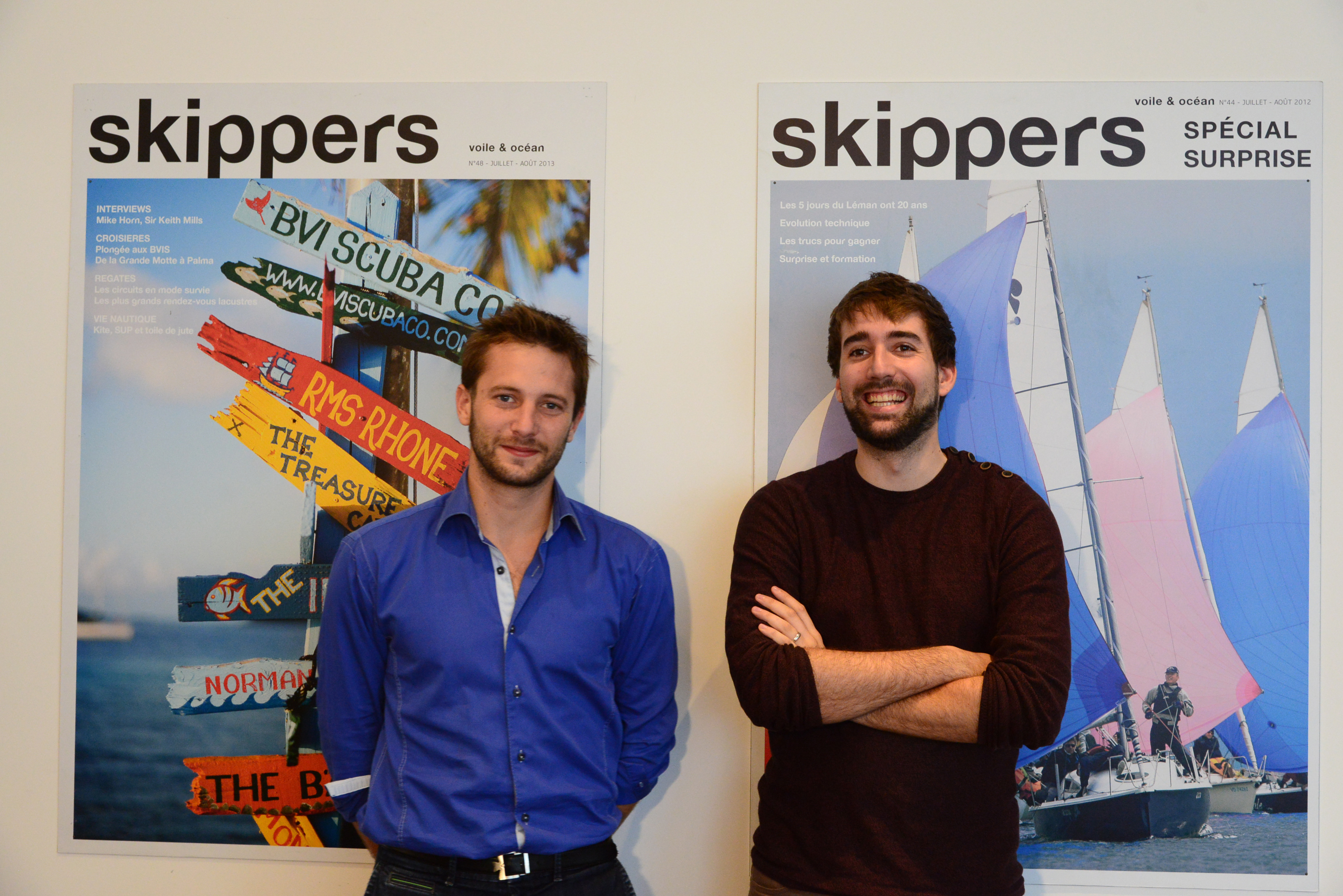 skippers.ch LUDOVIC PITTARD QUENTIN MAYERAT