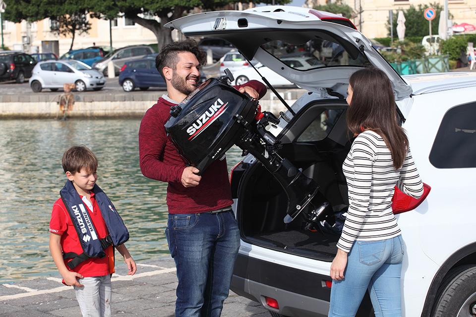 SUZUKI : nouveaux moteurs hors-bord portables