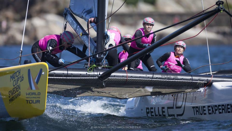 elodie jane métros - world match racing tour - team magenta32 - skippers.ch