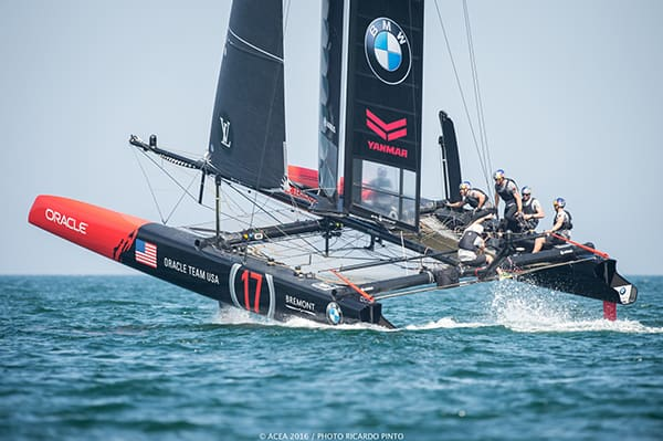 America's Cup World Series Oman skippers.ch