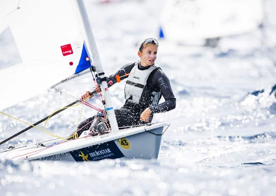 Maud Jayet, 1. Platz am Monaco Europa Cup in der Klasse Laser Radial