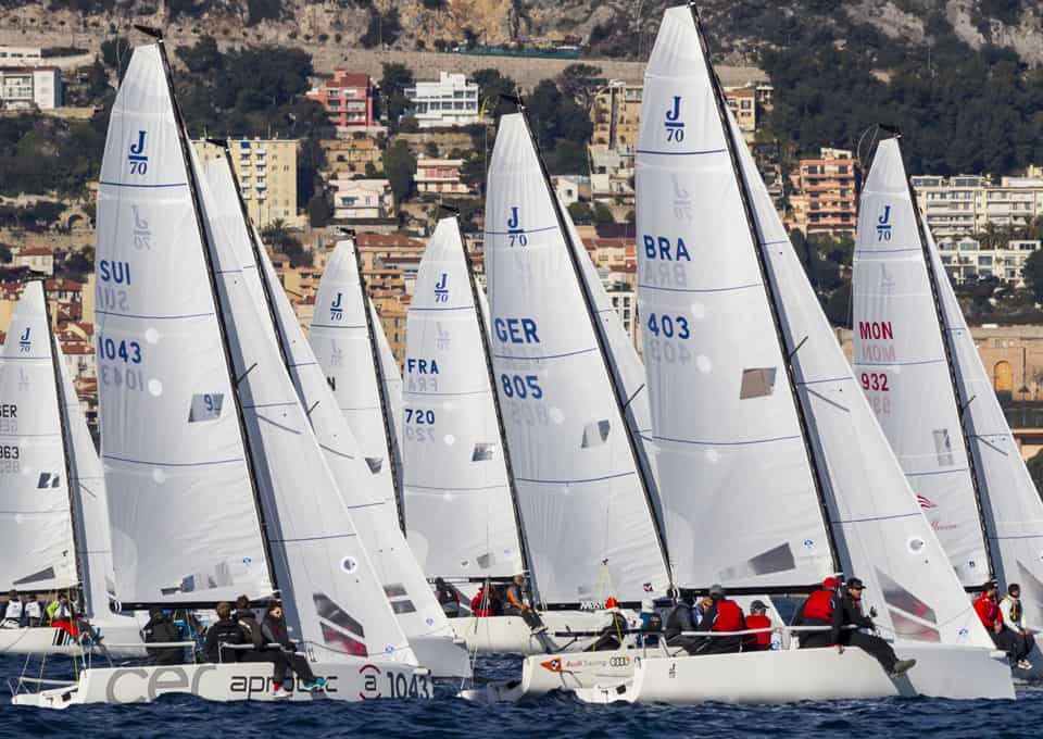 Alain Stettler, 3. Platz am Act III der Monaco Winter Series auf J/70