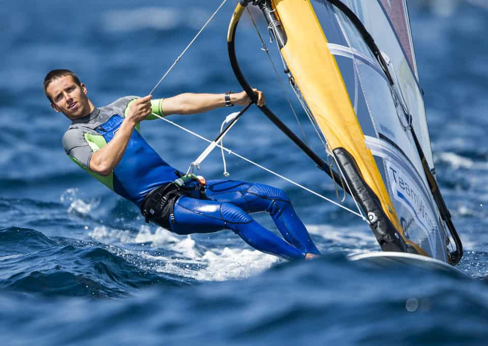 Mateo Sanz Lanz, 2e de l'Andalusian Olympic Week en RS:X