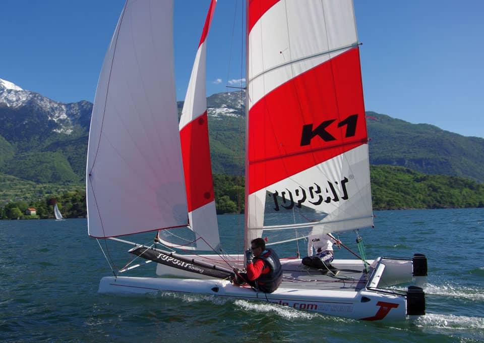 Topcat : naviguer sur le lac de Côme