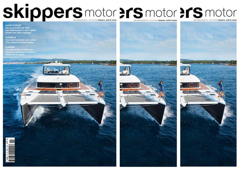 Ein Skippers (Motor) kommt selten allein