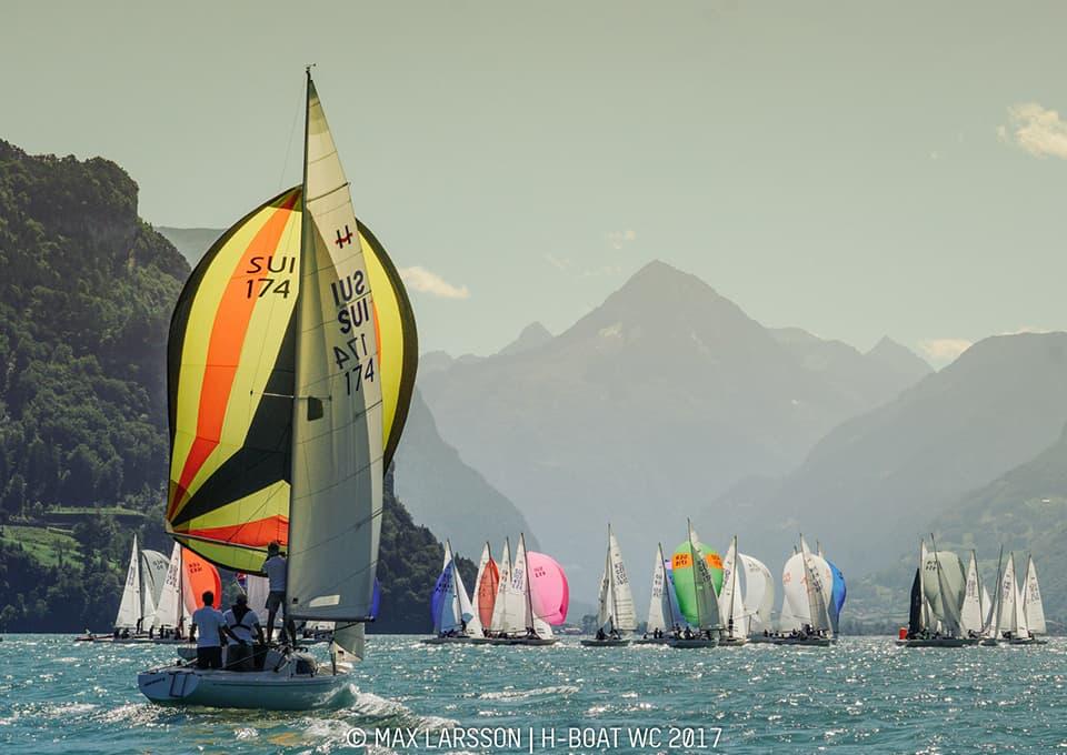 Windweek & championnat du monde de H-Boat : pas de nouveau titre