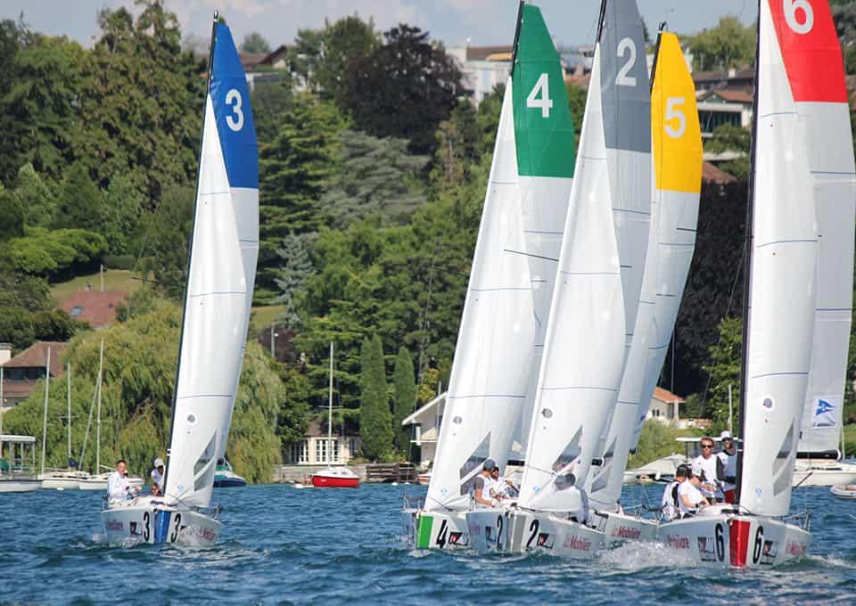Swiss Sailing League: Kampf um jeden Meter