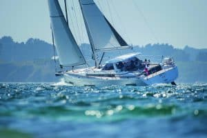AMEL 50 navigation @ JS Evrard 06