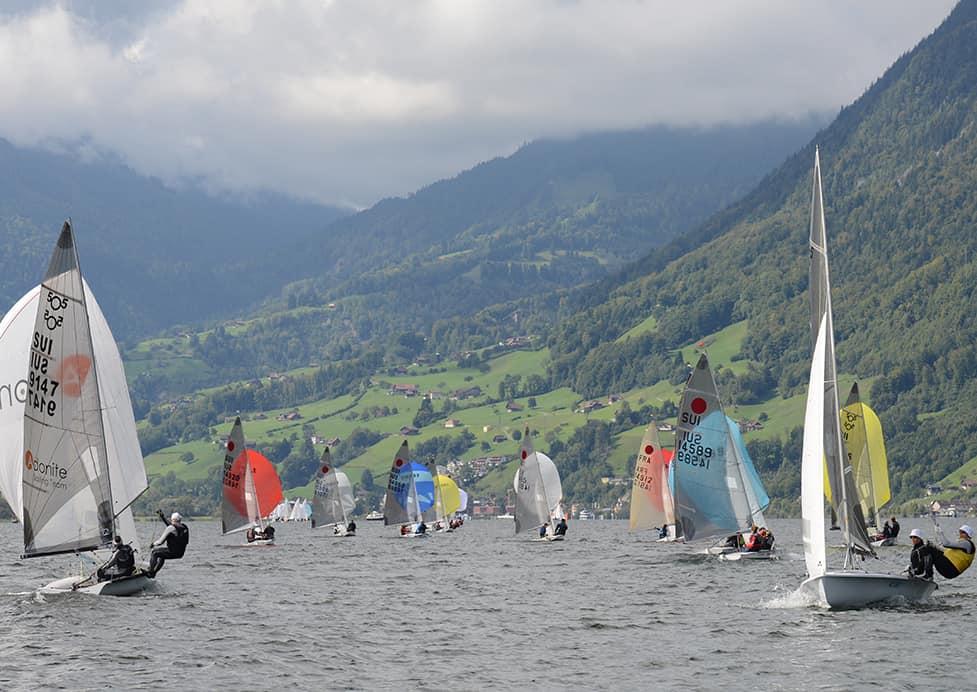 Voile sur dériveurs : grand succès pour le SwissOpenAlpi