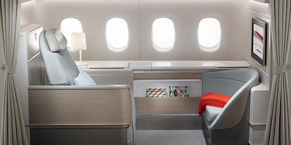 Luxus auf 10'000 Metern: Air France fliegt First Class