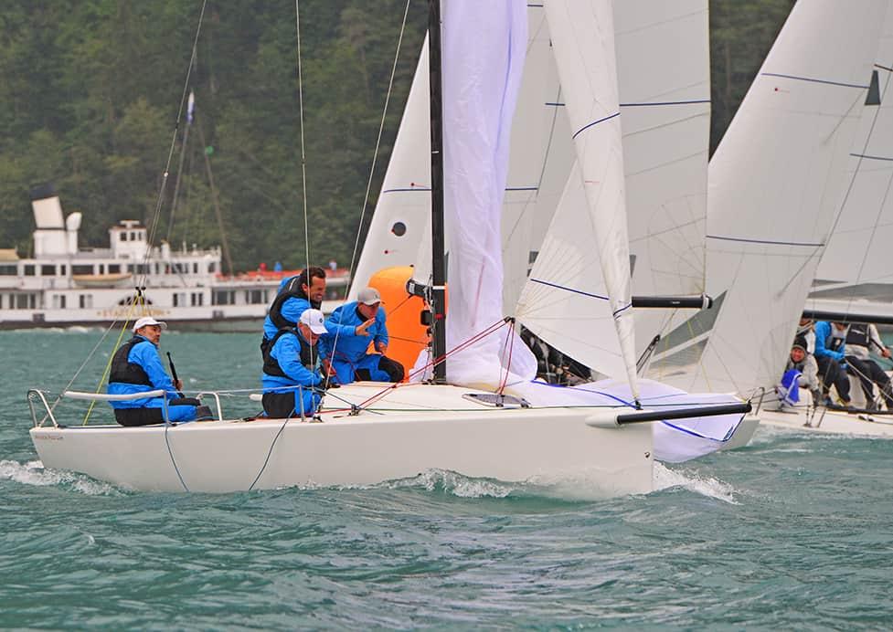 Windweek Brunnen, acte 2 : wieser ramène le titre du championnat de série des J/70 en Allemagne