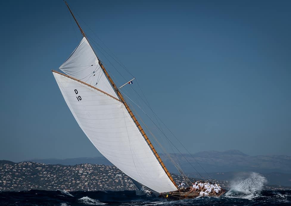Voiles de Saint-Tropez – Gstaad Yacht Club Centenary Trophy: Schaulaufen der alten Damen