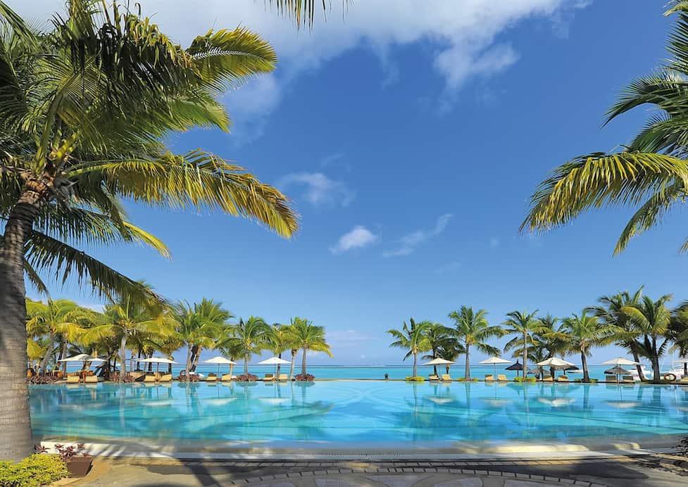 Paradis Beachcomber île Maurice - Le Paradis sur une péninsule